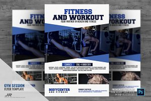 Gym and Sports Flyer