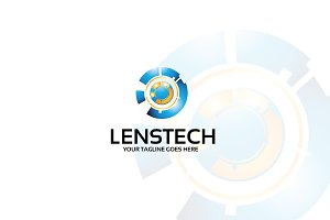 Lenstech – Logo Template