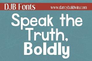 DJB Speak the Truth, Boldly
