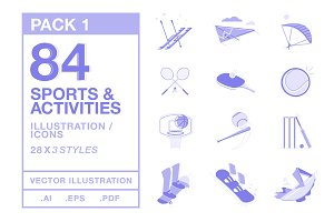 Sports & Activities Illustration #1