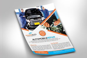 Automobile Repair Flyer