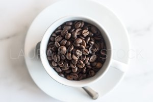 Coffee Beans Detail Stock Photo