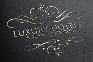 [40% off] Luxury & Royal Logos