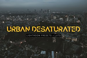 Urban Desaturated Lightroom Presets