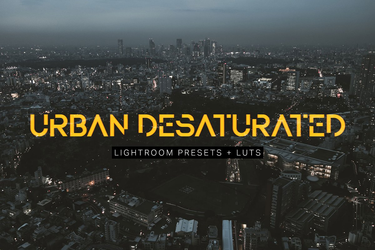 Urban Desaturated Lightroom Presets ~ Photoshop Add-Ons