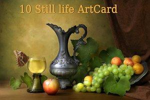 Still Life Classic 10 Art Card