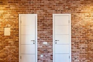 Two doors.