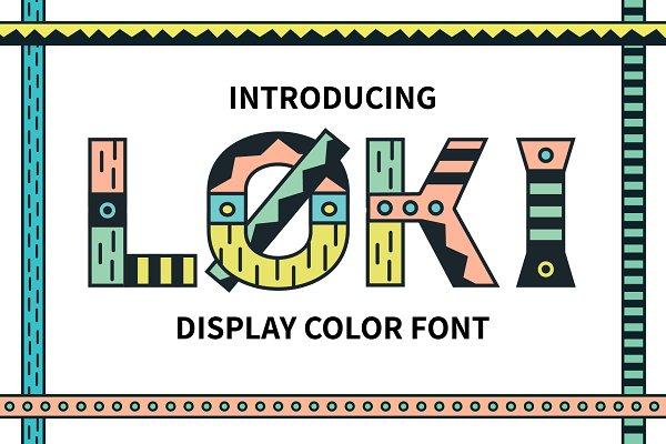 Loki Color Font