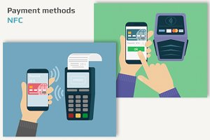 Vector payments via NFC