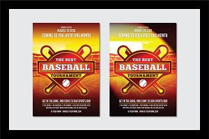 Baseball Flyer Template1