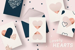 Lovely Hearts - for VALENTINE'S DAY