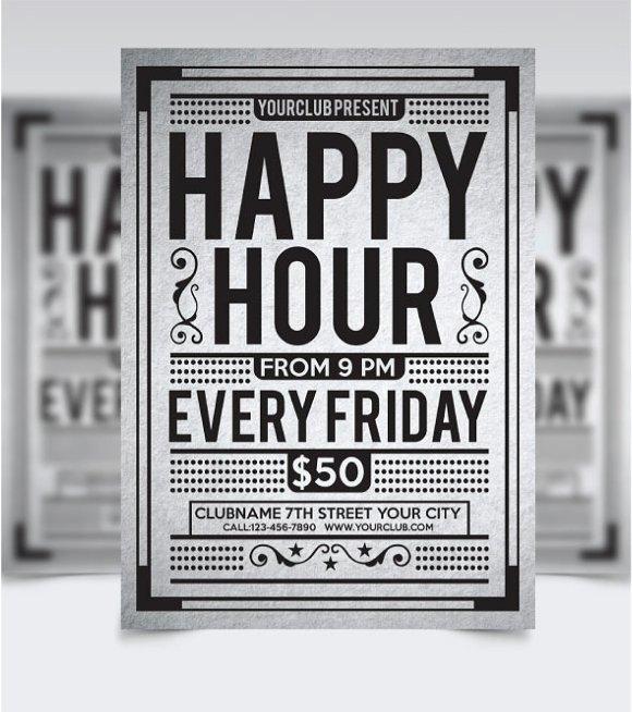 Happy Hour Flyer Vol1