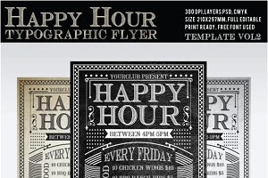 Happy Hour Flyer Vol2