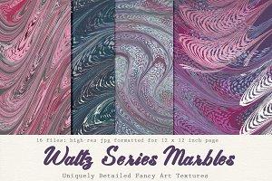 Art Textures:  Marbled Waltz Series