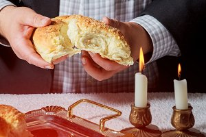 Sabbath kiddush ceremony composition