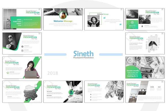 Sineth Business Powerpoint