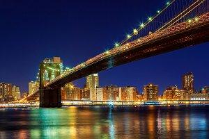 New York - Panoramic view of Manhatt