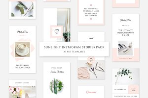 Sunlight Instagram Stories Pack