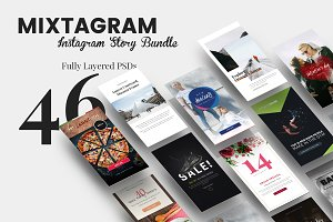 MIXTAGRAM - Instagram Story Bundle