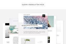 Clean E-newsletter Pack by Swiss_cube in Email