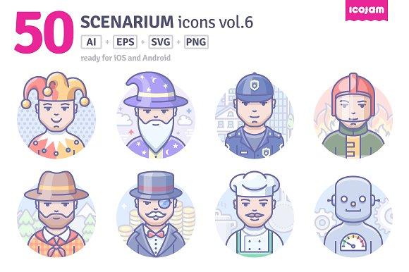 Scenarium Icons Vol.6