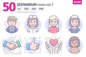 Scenarium icons vol.7