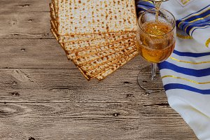 Matza for passover celebration