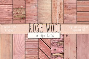 Rose Wood Backgrounds