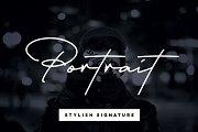 Portrait Signature Script - 6 Fonts
