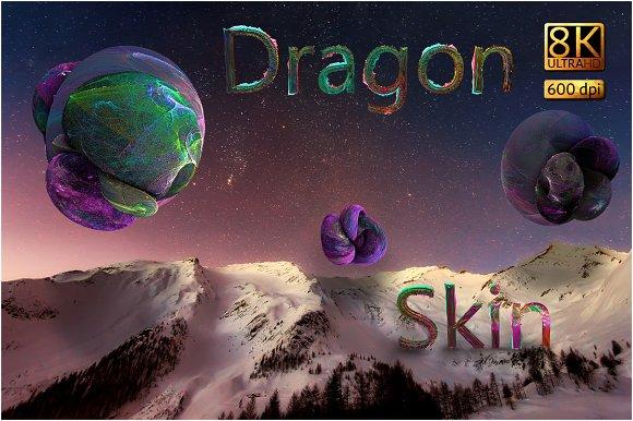 8K Dragon Skin