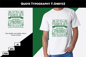 Quote Typography T-Shirts2