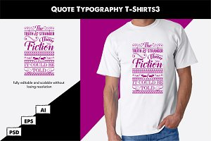 Quote Typography T-Shirts3