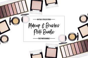 Makeup & Brushes Photo Bundle S1