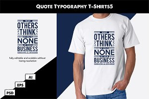 Quote Typography T-Shirts5
