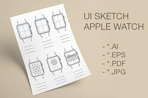 Apple Watch for sketch and develop