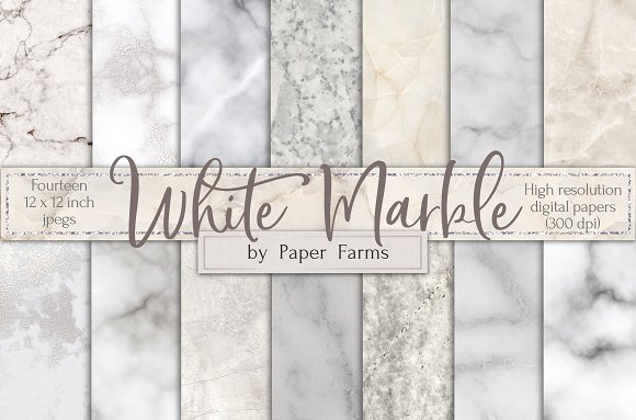 White marble backgrounds