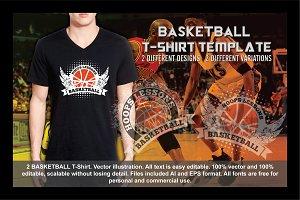 2 BASKETBALL T-Shirt