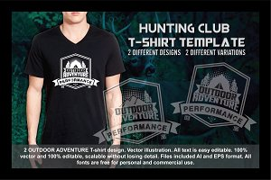 2 Hunting Club T-Shirt