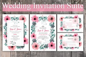 Pink Flower Wedding Suite
