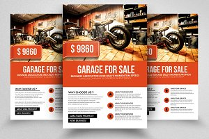 Garage Sale Promotion Flyer