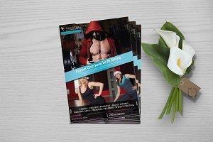 Fitness Flyer - Gym Flyer V757