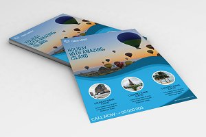 Travel Agency Flyer Template V758