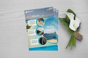 Travel Agency Flyer  V759