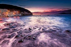 Tufia, small fishing village. Spain.