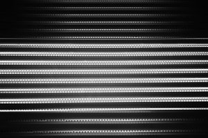 Black and white futuristic computer code background