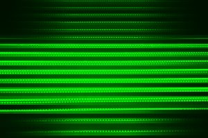 Green futuristic computer code background