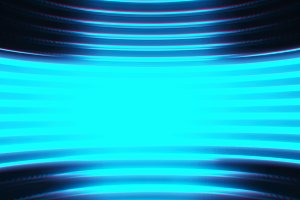 Cyan virtual reality chamber background