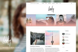 Lady - WordPress Theme