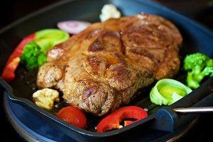 Roasted Pork Neck