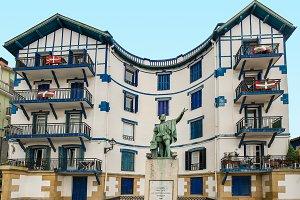 Basque country. Spain. Elcano